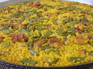 Imagen paella tradicional en Valencia